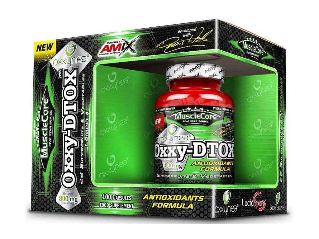 Amix MuscleCore OXXY-DTOX 100kapslí