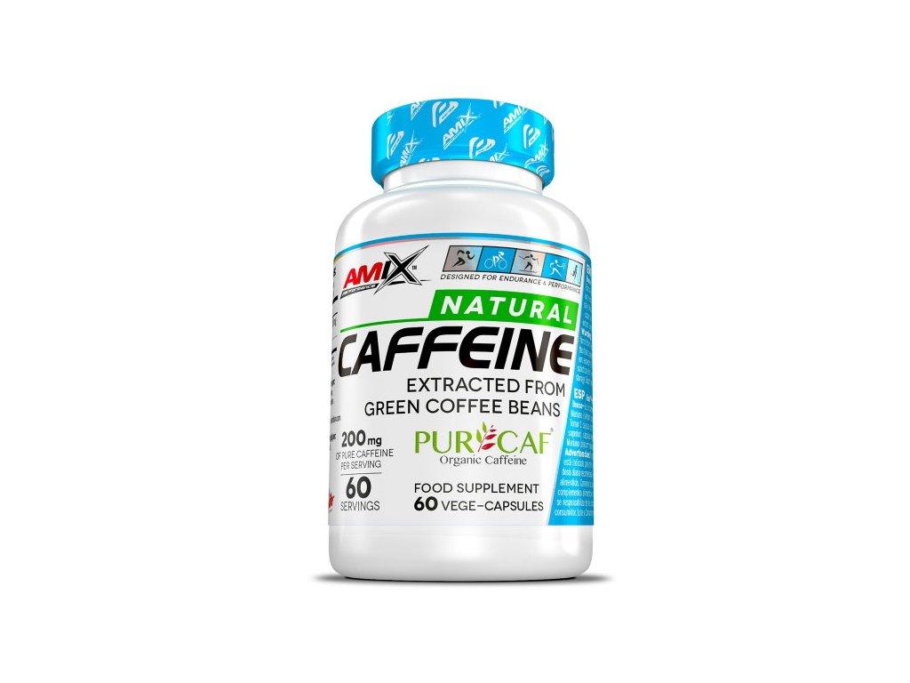 Amix Natural Caffeine PurCaf 60kapslí
