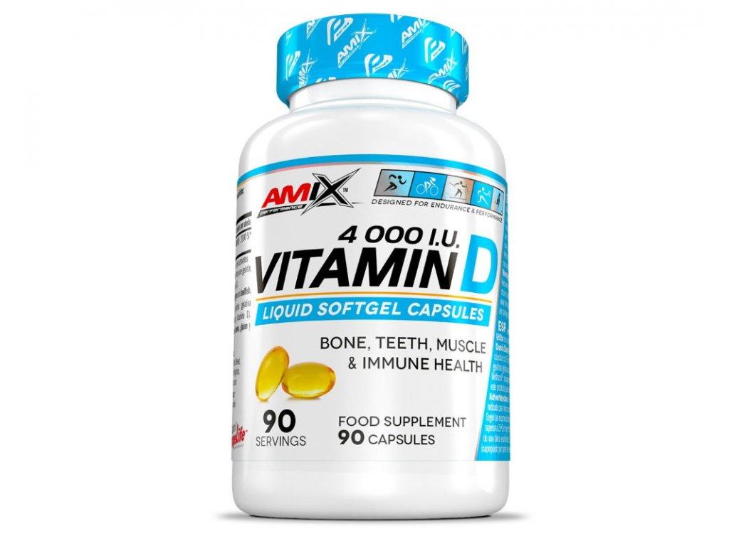 Amix Vitamin D 4000 I.U. 90kapslí