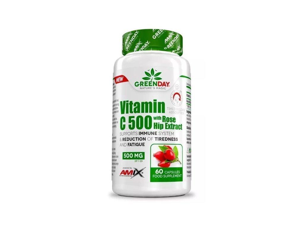 Amix Vitamin C 500 s extraktem z šípků 60kapslí