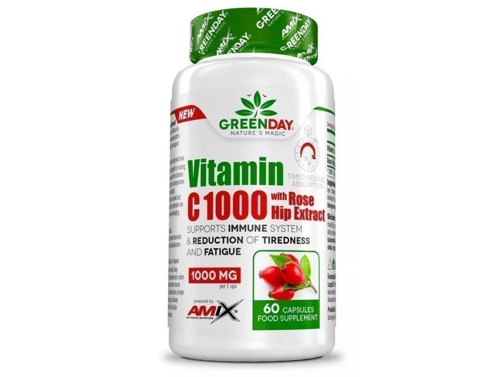 Amix Vitamin C 1000 s extraktem z šípků 60kapslí