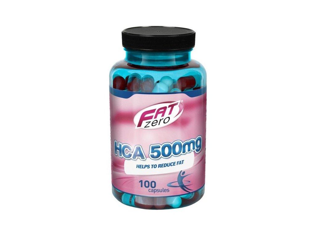 Aminostar FatZero HCA 100kapslí