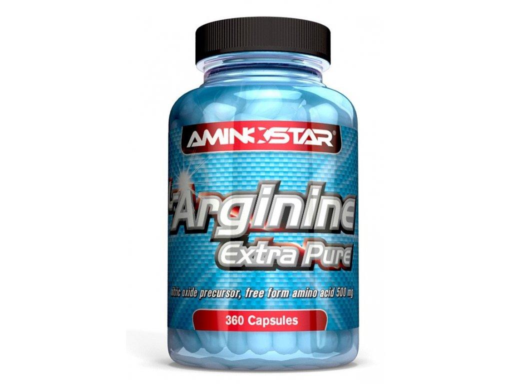 Aminostar L-Arginine Extra Pure 360kapslí