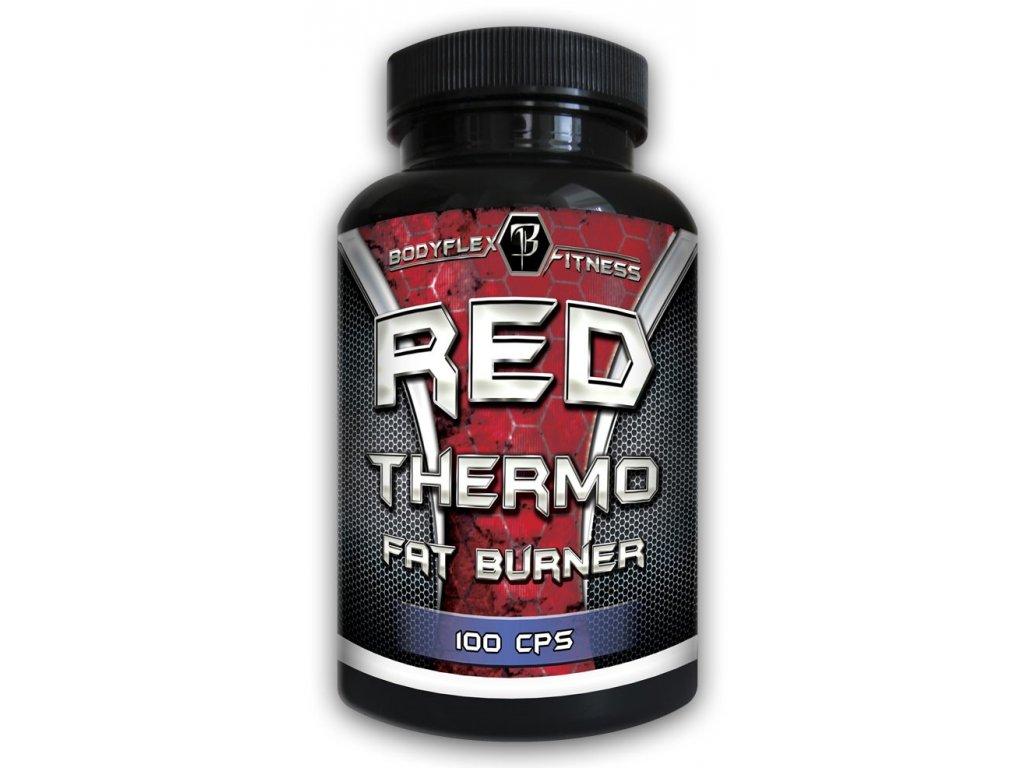 Bodyflex Fitness Red Thermo Fat Burner 100kapslí