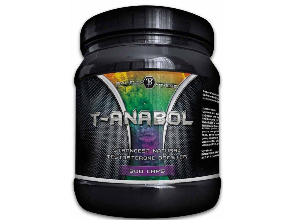 Bodyflex Fitness T-ANABOL 300kapslí