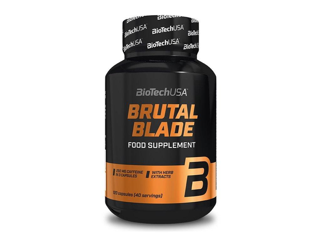 BioTech Brutal Blade 120kapslí