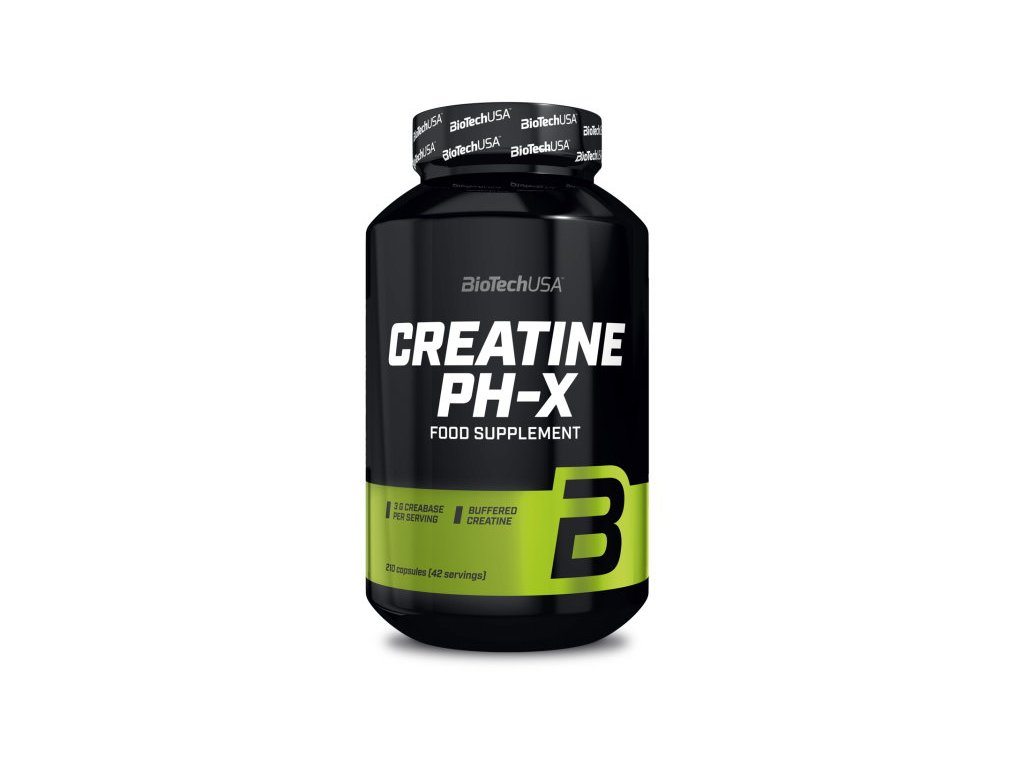 BioTech Creatine PH-X 210 kapslí