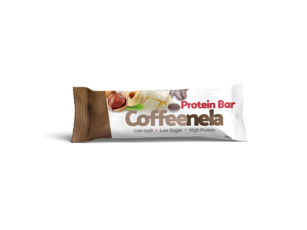 Czech Virus Coffeenela Protein Bar 20x45 g