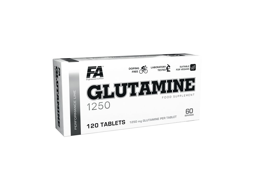 Fitness Authority Glutamine 1250 120 tablet