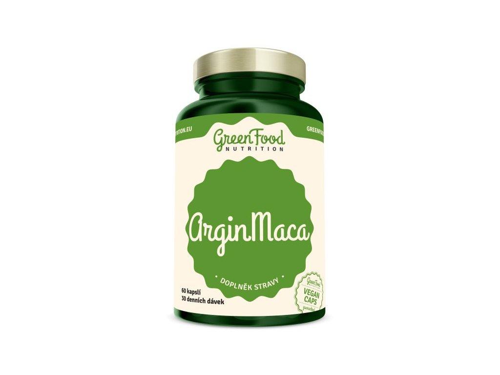 GreenFood ArginMaca 60 kapslí