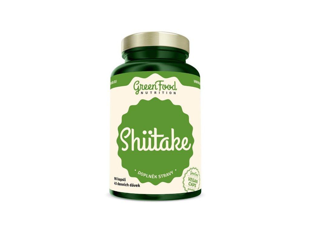 GreenFood Shiitake 90 kapslí