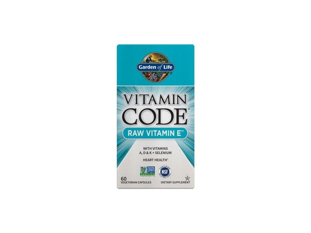 Garden of Life Vitamin E RAW 60kapslí
