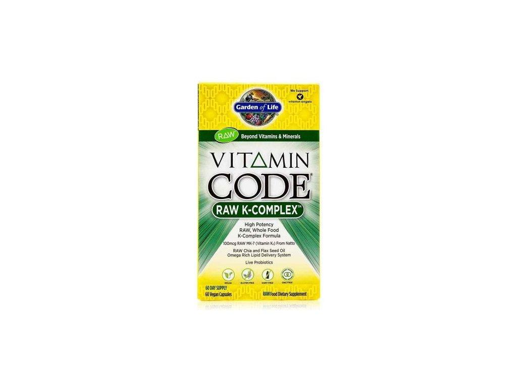 Garden of Life Vitamín K - Komplex RAW 60kapslí