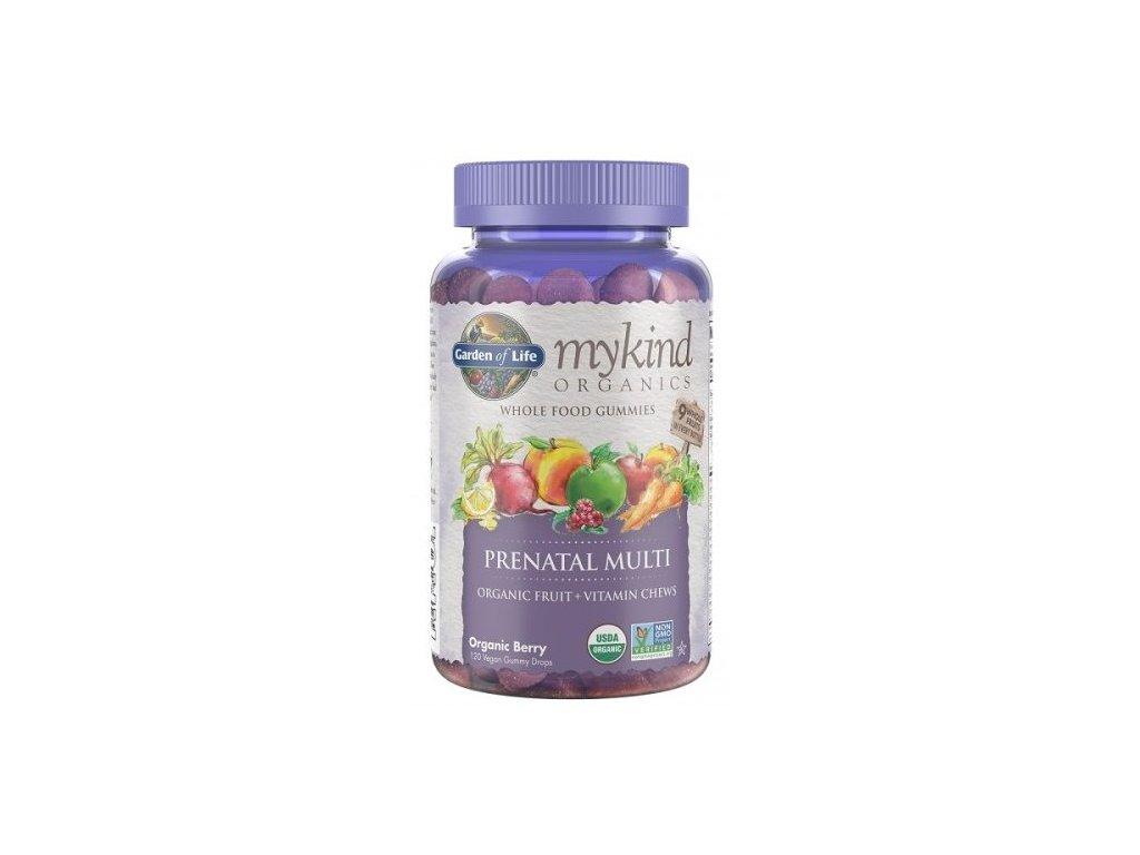 Garden of Life Mykind Organics Multi Gummies Prenatální 120kapslí