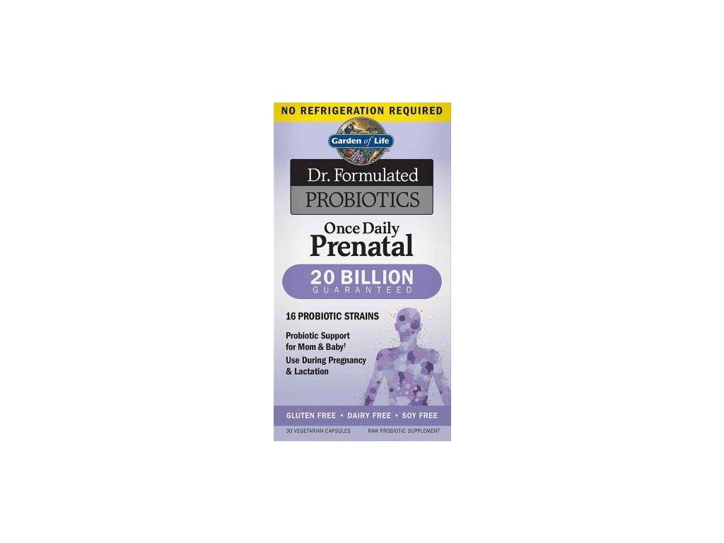 Garden of Life Dr. Formulated Prenatal probiotika 30kapslí