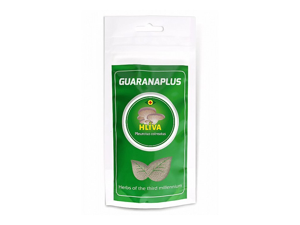GuaranaPlus Hlíva ústřičná prášek 75g