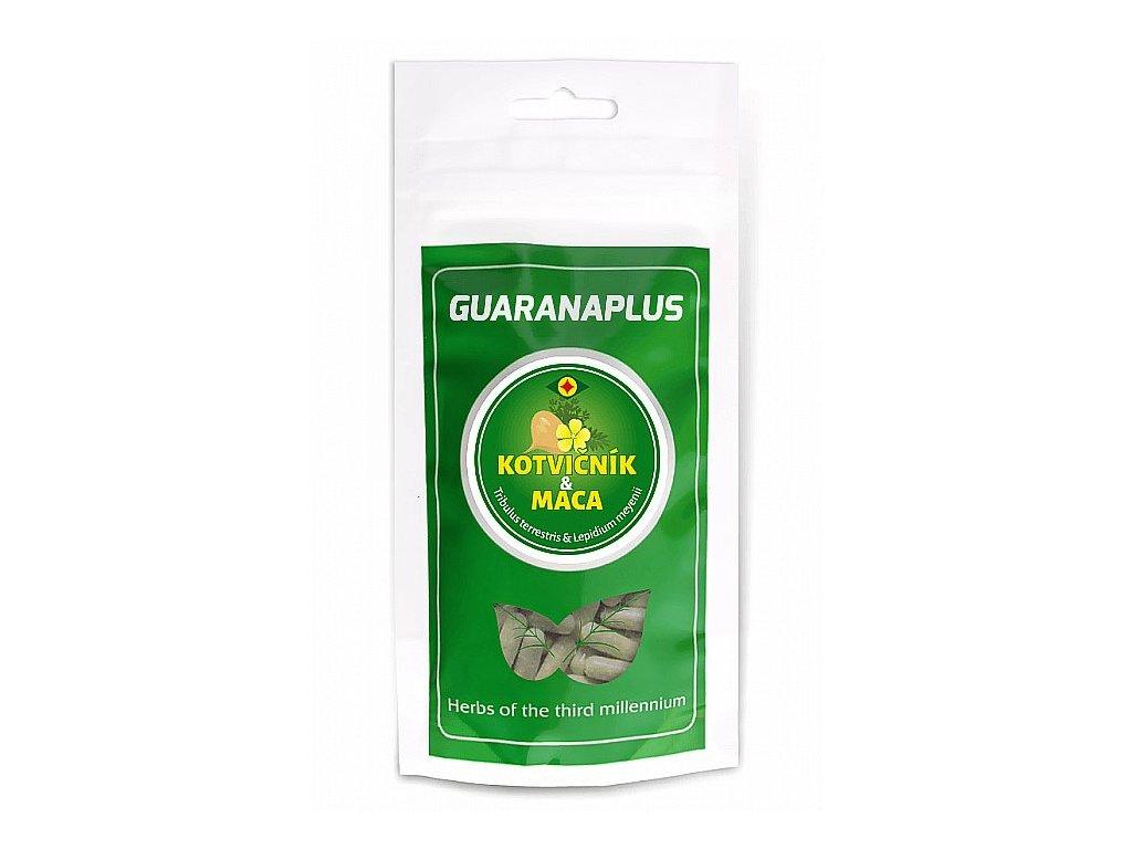 GuaranaPlus Kotvičník zemní + Maca 100kapslí