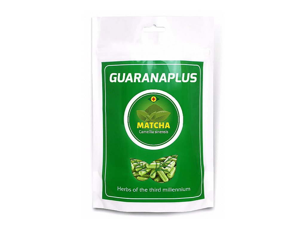GuaranaPlus Matcha tea XL 400 kapslí