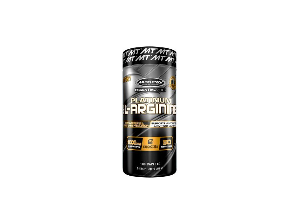 MuscleTech Platinum 100% L-Arginine 100 tablet