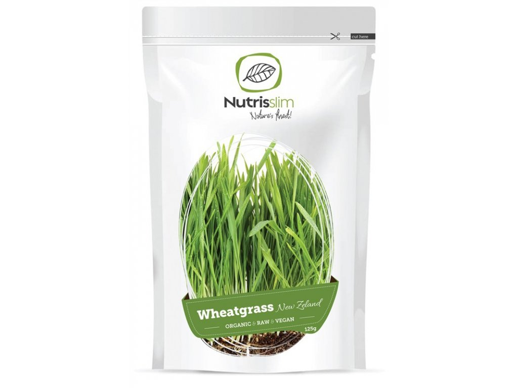 Nutrisslim BIO Wheatgrass Powder (New Zealand) 125g