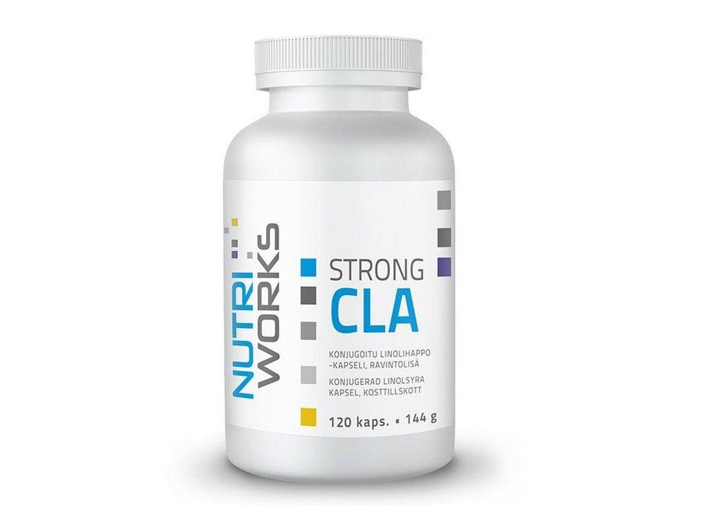 NutriWorks CLA Strong 120kapslí