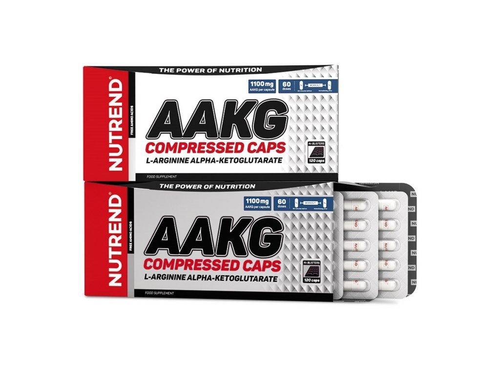 Nutrend AAKG Compressed 120kapslí
