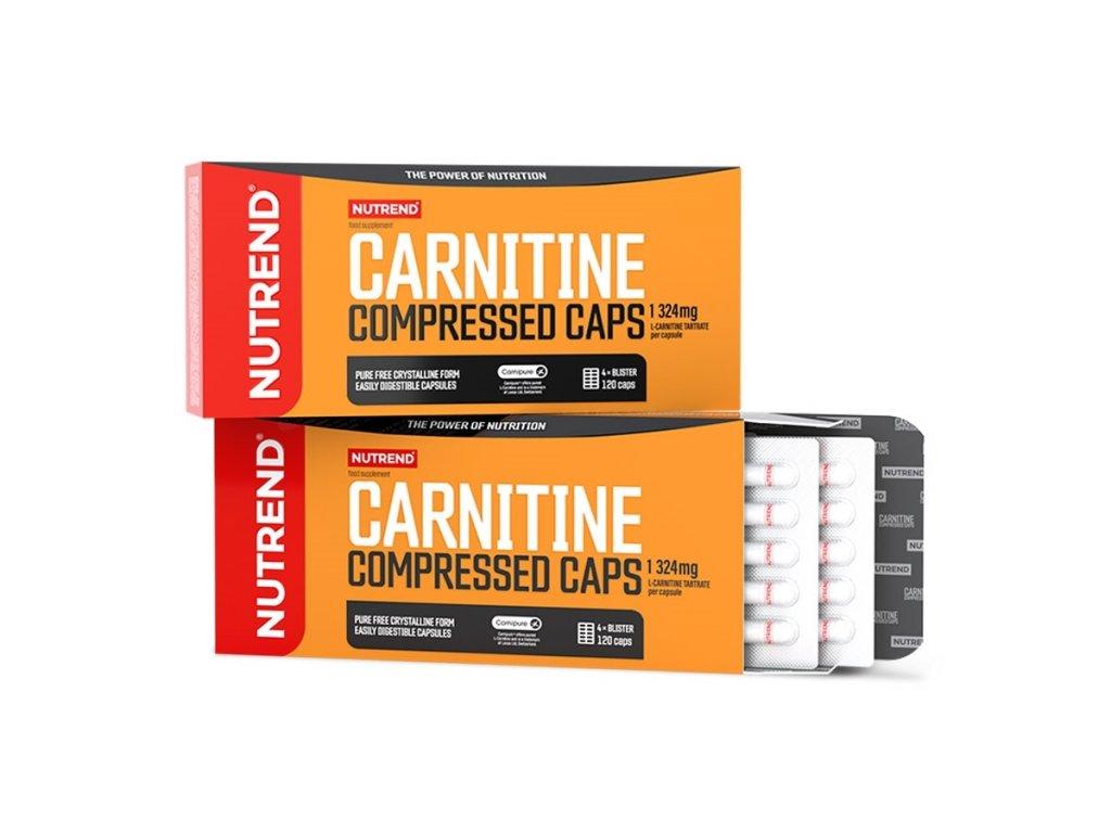 Nutrend Carnitine Compressed Caps 120kapslí