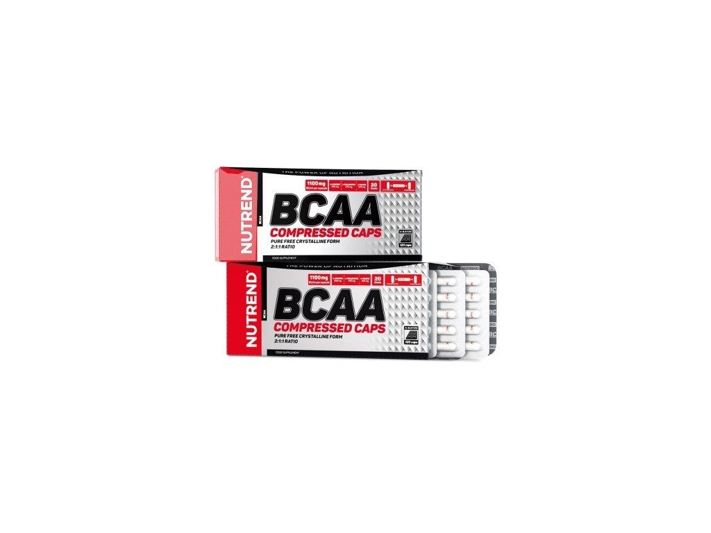 Nutrend BCAA Compressed Caps 120kapslí