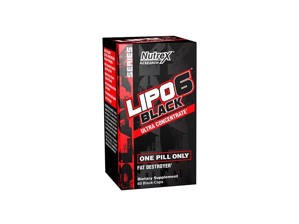 Nutrex Lipo 6 Black Ultra Concentrate 60kapslí