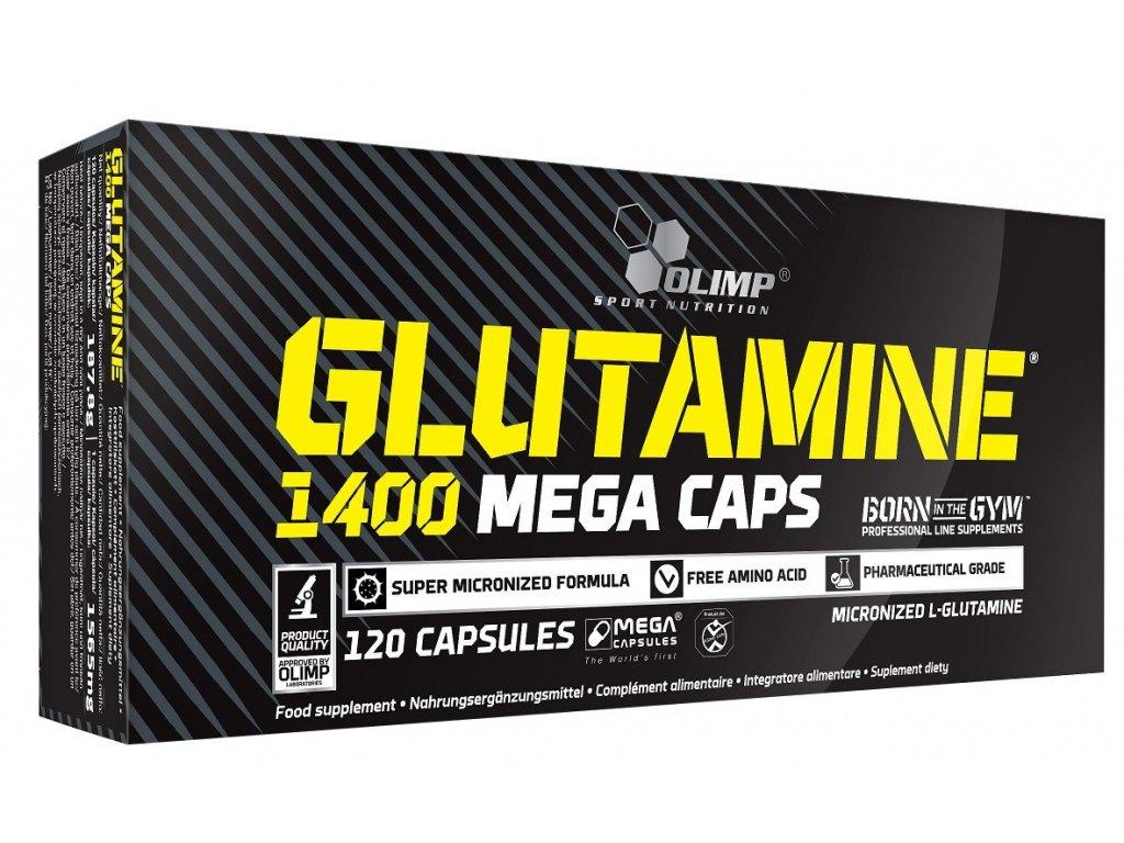 Olimp Glutamine 1400 Mega Caps 120kapslí