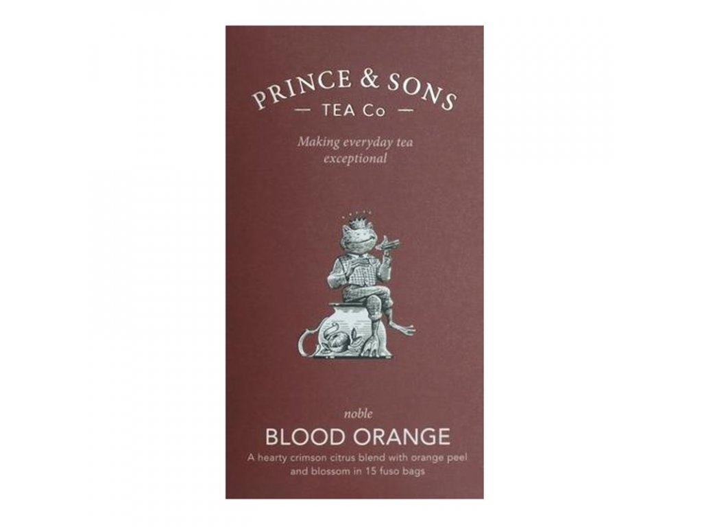 Prince and Sons Blood Orange 15 sáčků 37,5 g