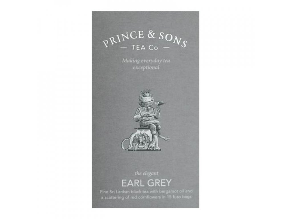 Prince and Sons Earl Grey 15 sáčků 37,5 g