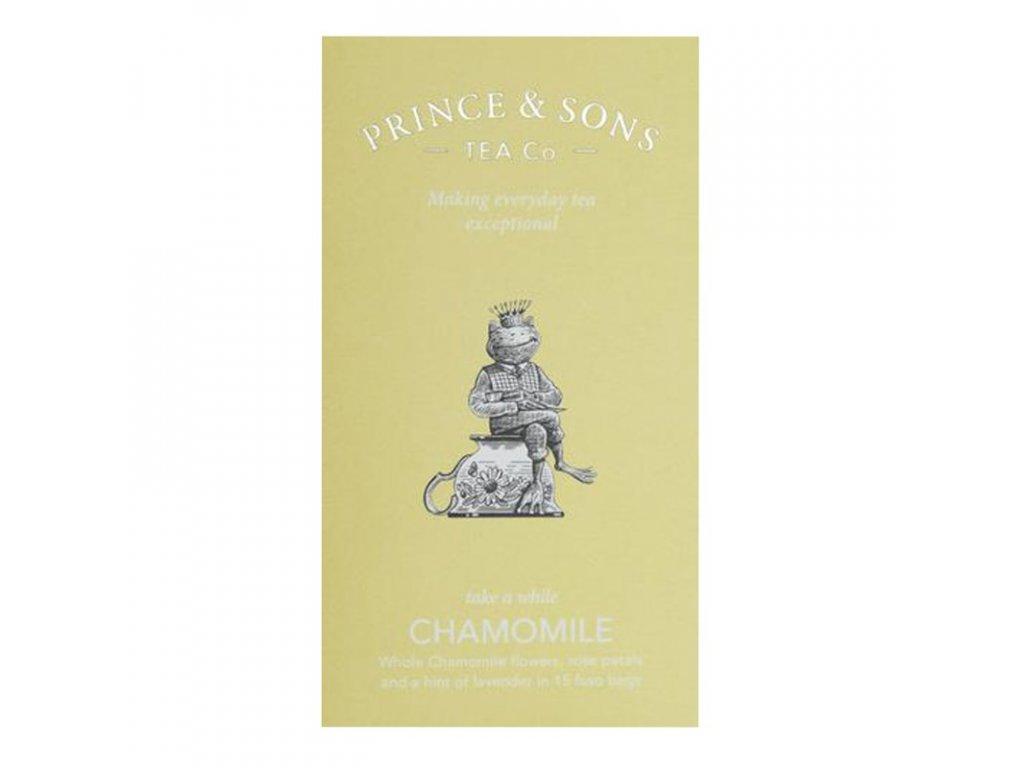 Prince and Sons Chamomile Tea 15 sáčků 22,5g