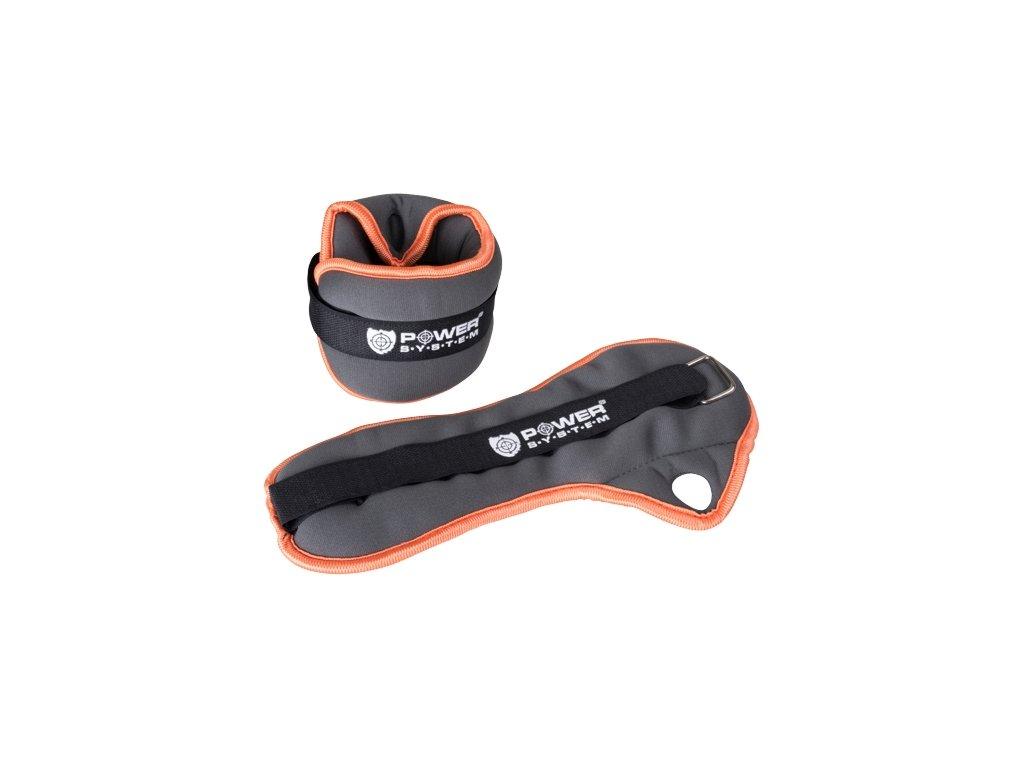 Power System Neoprenové zátěže na zápěstí Wrist Weight 2x0,5kg