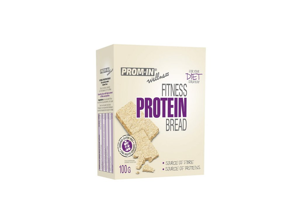 Prom-IN Fitness proteinový chléb 100g