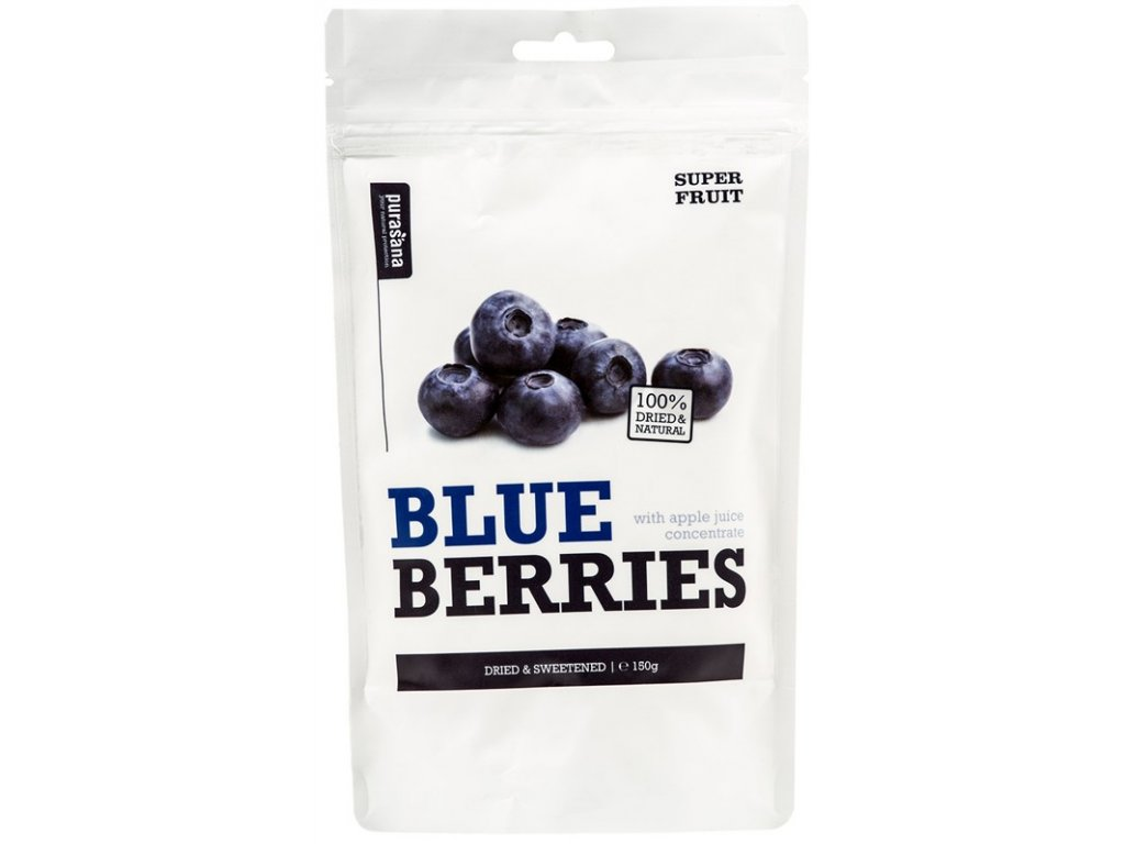 Purasana Blueberries 150g