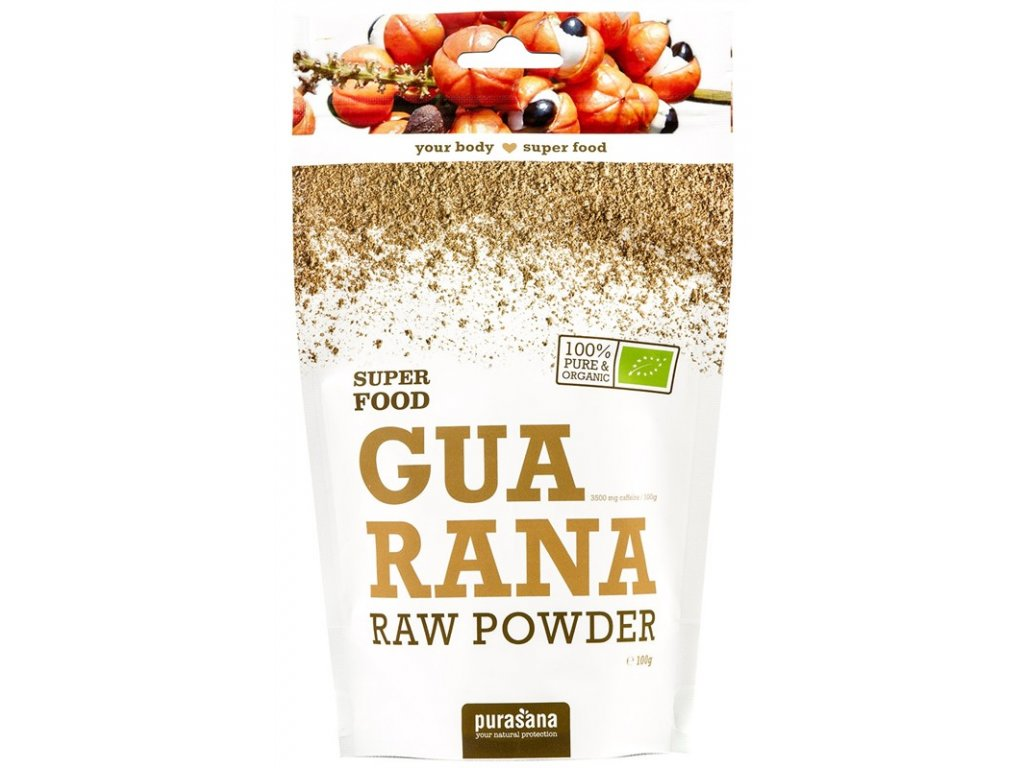 Purasana Guarana Powder BIO 100 g