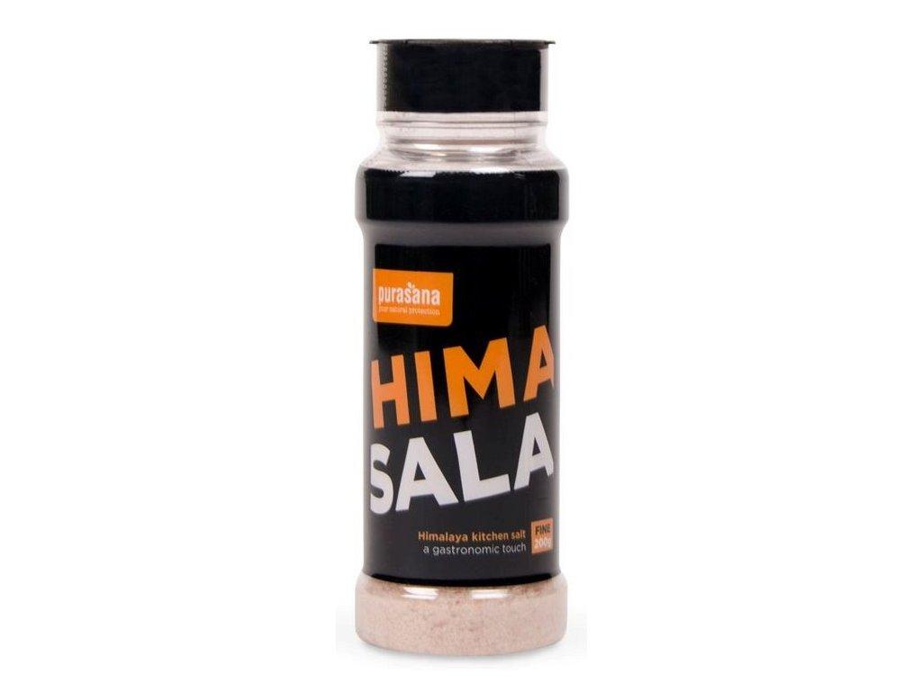 Purasana Himalájská sůl jemná 200g solnička