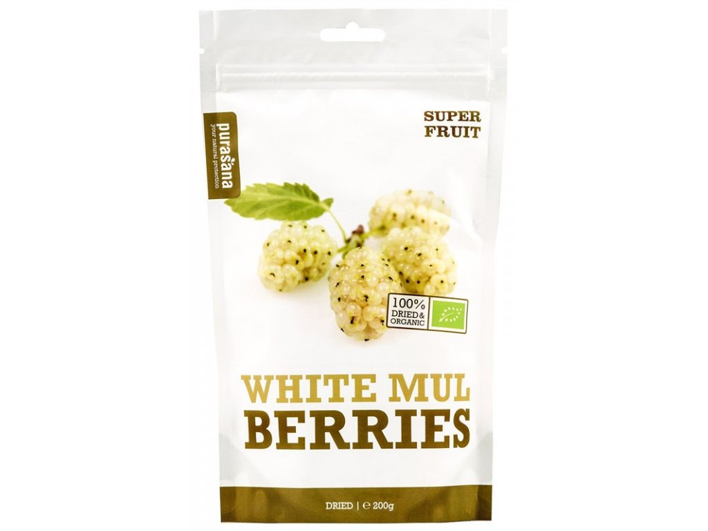 Purasana White Mulberries BIO 200g