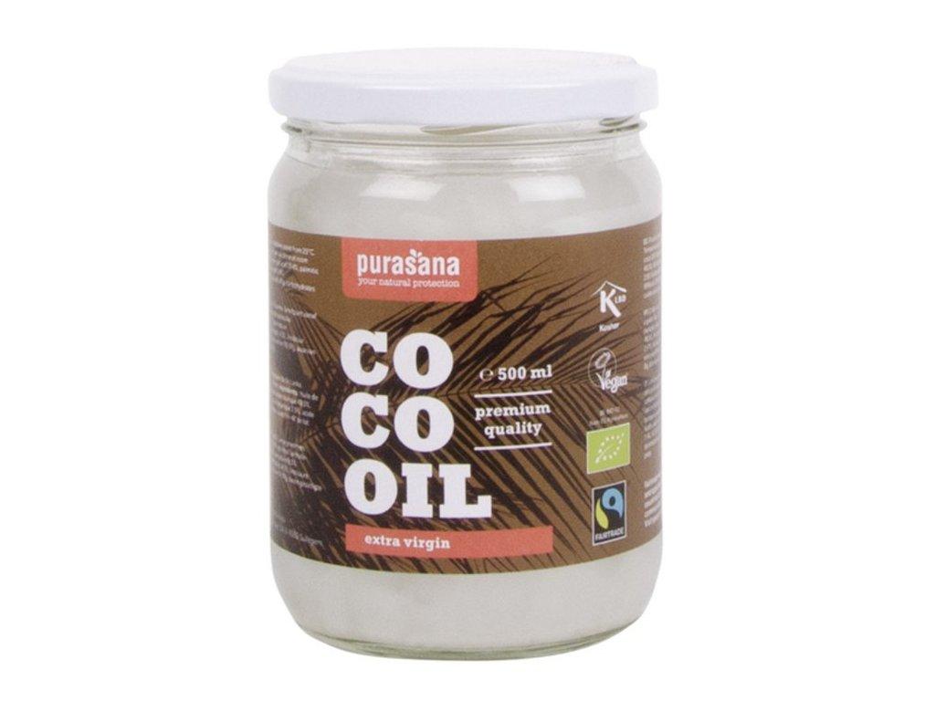 Purasana Coco Virgin Coconut Oil BIO 500ml