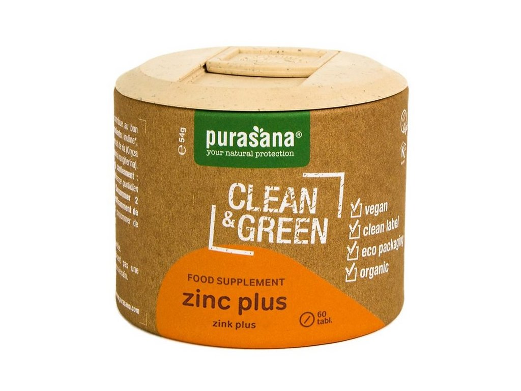 Purasana Zinc Plus BIO 60 tablet