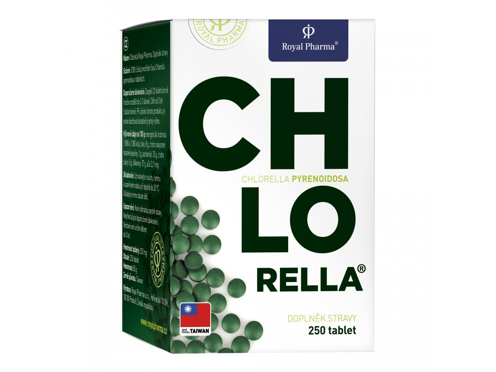 Royal Pharma Chlorella 250 tablet