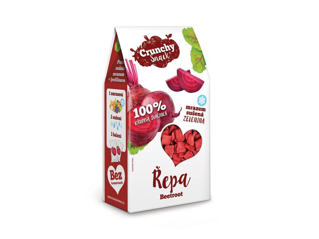 Royal Pharma Crunchy snack Mrazem sušené kousky řepy 20 g
