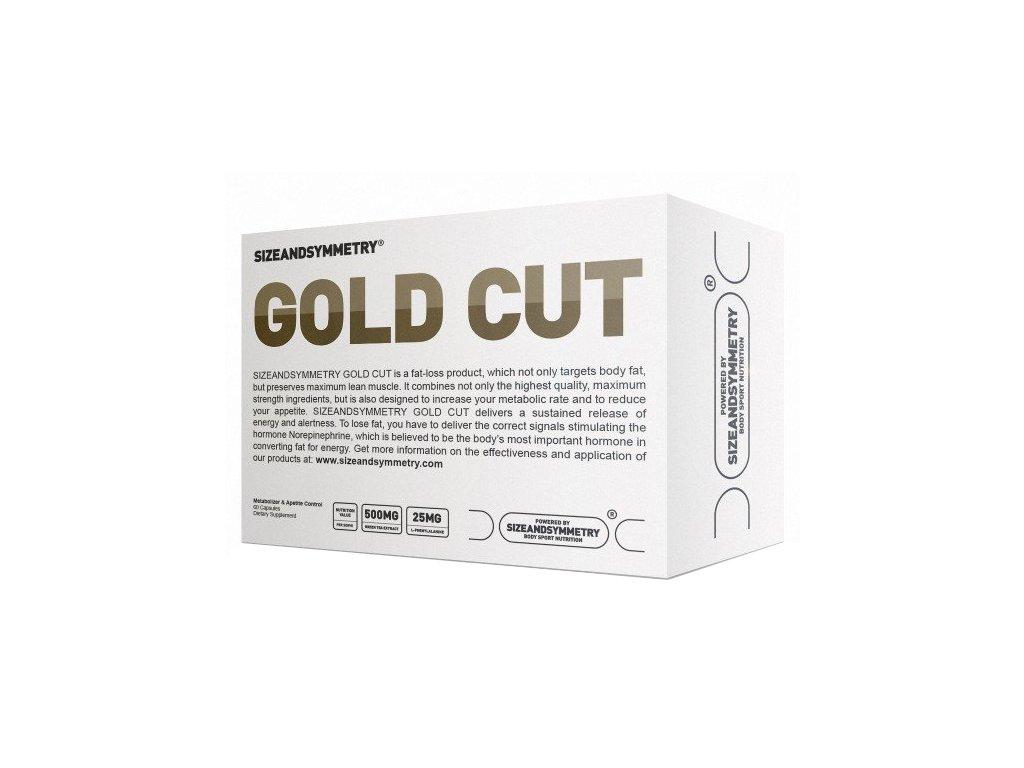 Sizeandsymmetry Gold Cut 60kapslí  + Sizeandsymmetry Caffeine 60 kapslí