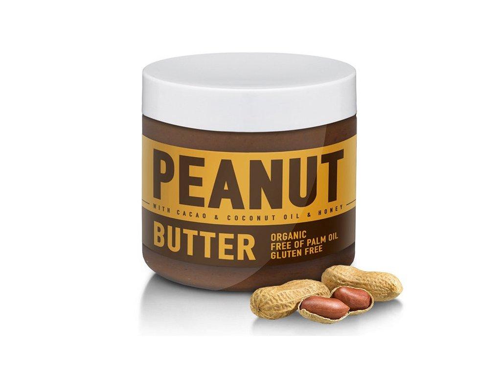 Sizeandsymmetry arašídové máslo s kakaem, kokosem a medem 500g