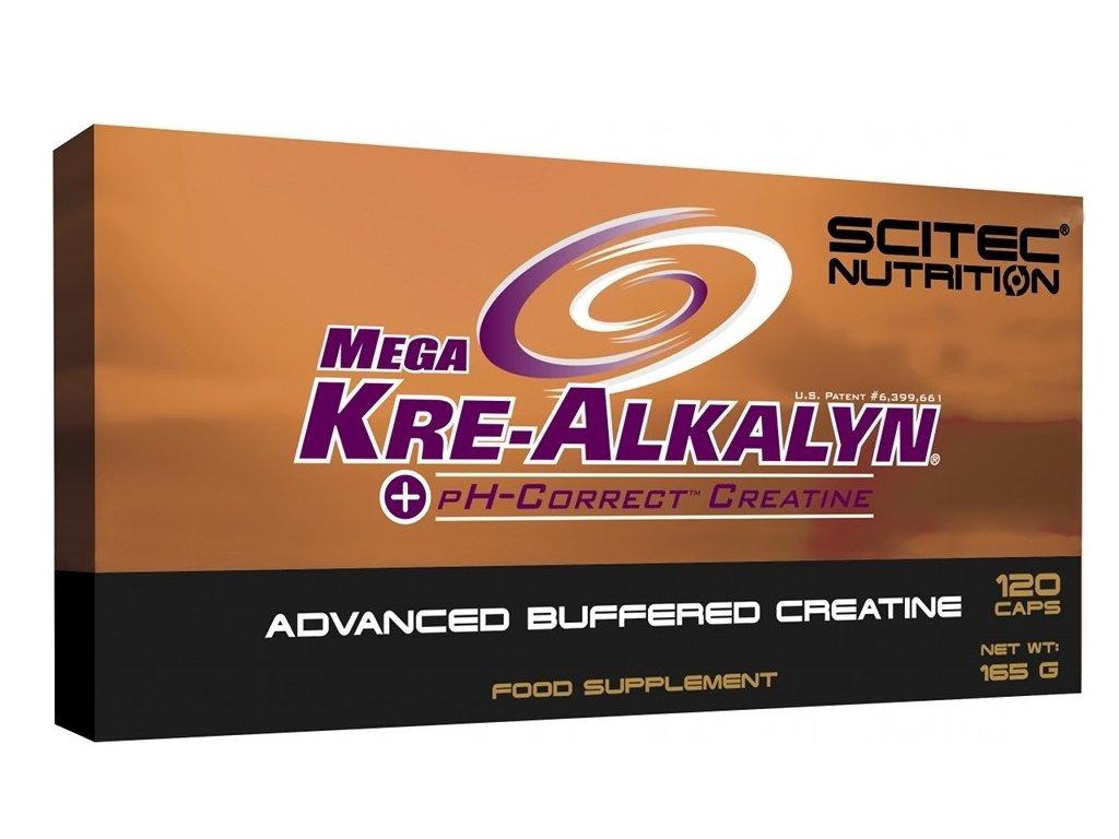Scitec Mega Kre-Alkalyn 120kapslí