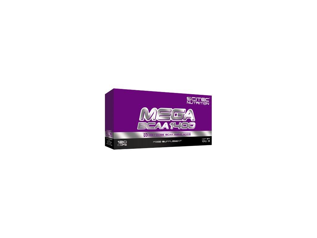 Scitec Mega BCAA 1400 120kapslí
