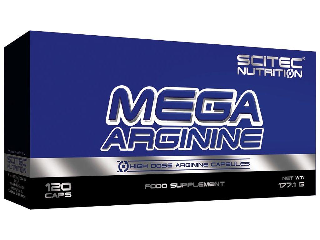 Scitec Mega Arginine 120kapslí