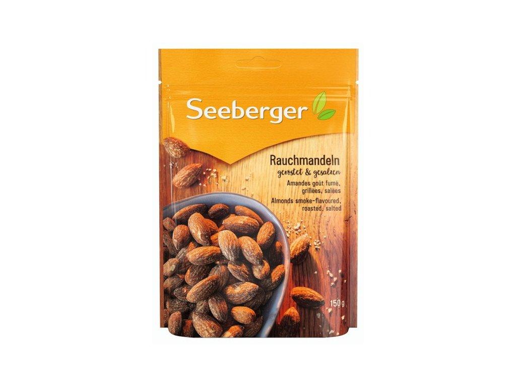 Seeberger Pražené a solené mandle (uzené kouřovým aromatem) 150g