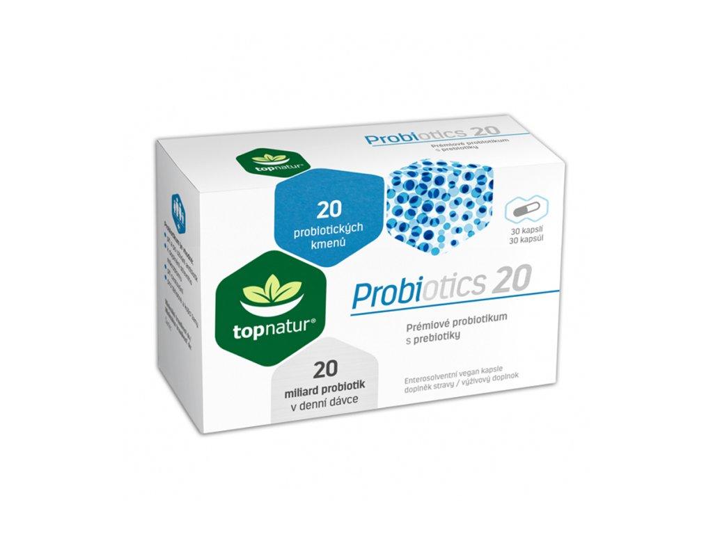 Topnatur Probiotics 20 30kapslí
